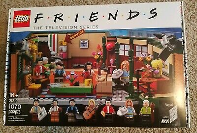 $119.99 • Buy LEGO FRIENDS Central Perk Ideas 21319 Television Show 25th Anniversary