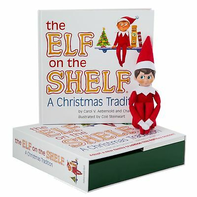 AU29.26 • Buy 🔥Elf On The Shelf : A Christmas Tradition Blue-Eyed Boy Light Skinned Scout Elf