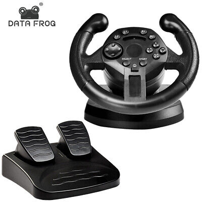 Simulator Racing Steering Wheel For PS3 PC Game Steering Wheel With Vibration • 45.64£