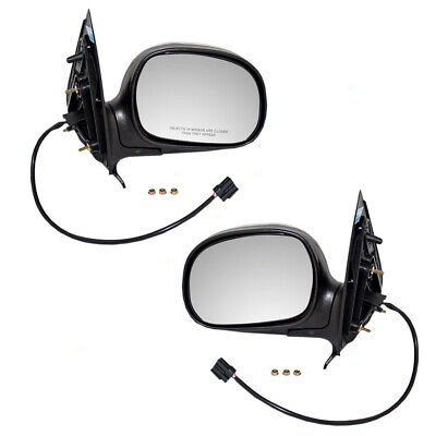 $67.33 • Buy Power Mirrors Fit F150 Crew Cab Pickup Expedition Navigator Set W/ Chrome Cover