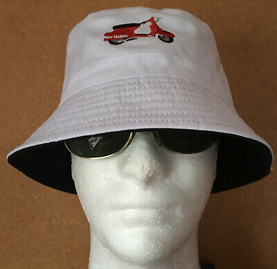 £11.45 • Buy Mod Ktf Scooter Vespa Rally 200 Inspired Bucket Hat Embroidered Not Patch