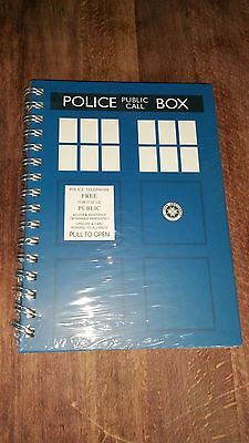Official Bbc Doctor Who A5 Tardis Notebook New Sealed • 7.99£