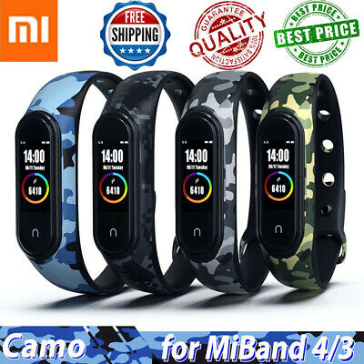 $1.69 • Buy Silicone Bracelet For Xiaomi Mi Band 4 3 Strap Camouflage Wristband Replacement