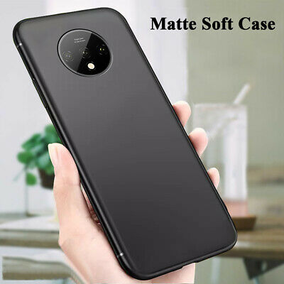 $ CDN2.54 • Buy For Oneplus 7/7T Pro Shockproof Protective Matte Soft Silicone TPU Case Cover