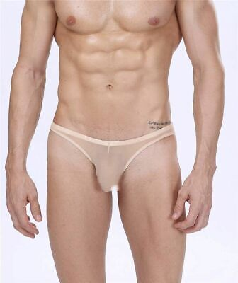 £10.17 • Buy Manview Mens Sheer Net G Thong Lowrise Pouch Underwear