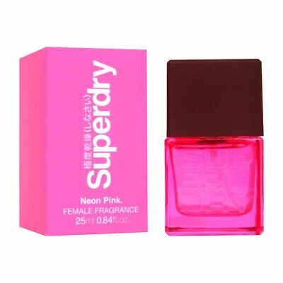Superdry Neon Pink Women Cologne Spray 25ml • 9.99£
