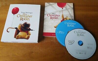 $24.99 • Buy Christopher Robin (Blu-Ray, Limited Storybook Edition) Disney Live Action Movie