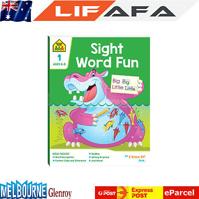 AU17.09 • Buy Kids Sight Word Fun: Deluxe Edition Book Learning Educational Toys For Children