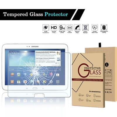 Tempered Glass Screen Protector For Samsung Galaxy Tab 3 10.1 P5200 GT-P5210 • 5.99£