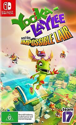 AU69 • Buy Yooka Laylee And The Impossible Lair Nintendo Switch Fun Family Kids Game