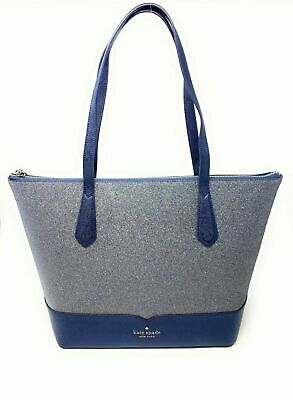 $ CDN136.11 • Buy Kate Spade Lola Glitter Large Tote Handbag WKR00152 $249