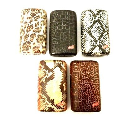 Windproof Turbo Jet Flame Gas Refillable Cigar Cigarette Lighter Animal Print • 3.65£