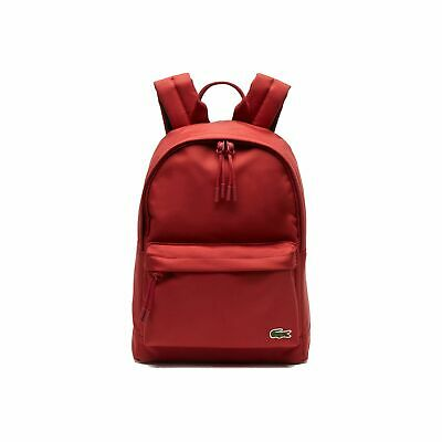 Lacoste NH2860NE Neocroc Small Canvas Backpack. Red Dahlia C62  • 75£