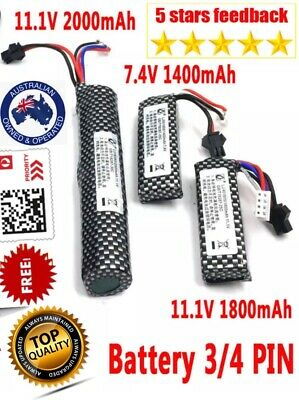 AU19.69 • Buy 11.1v/7.4v Lipo Battery Gel Blaster Jinming Gen8 Gen9 M4A1 Gen10 ACR Upgrade G36