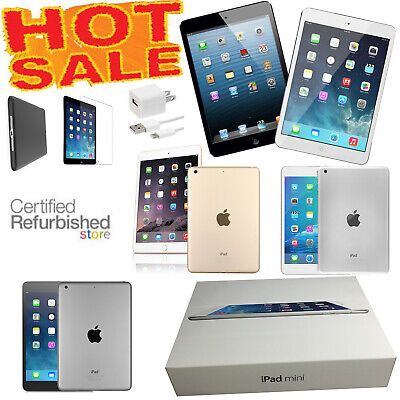 $ CDN190.69 • Buy (Bundle) Apple IPad Mini 1/2/3/4, WiFi/AT&T/Verizon/T-Mobile/Unlocked, Bundle