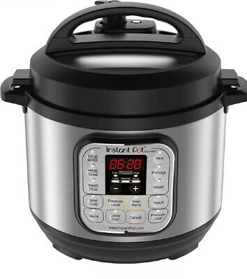 $99 • Buy Instant Pot Ultra 3 Qt 7in1 Multi Use Programmable Pressure Cooker, Slow Cooker