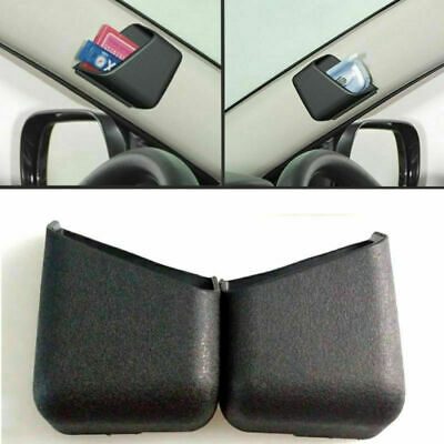 $3.50 • Buy 2x Universal Black Car Organizer Storage Bag Box Phone Holder Car Accessories