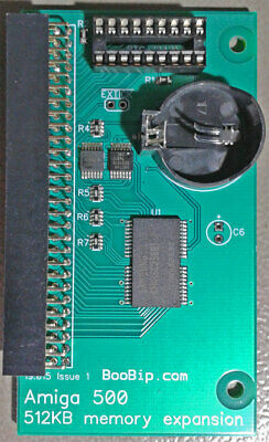 512KB RAM Upgrade - Commodore Amiga 500 Trapdoor Memory • 17.50£