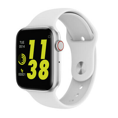 $ CDN63.32 • Buy Smartwatch W34 Bluetooth Uhr Curved Display Android IOS Samsung IPhone Huawei LG