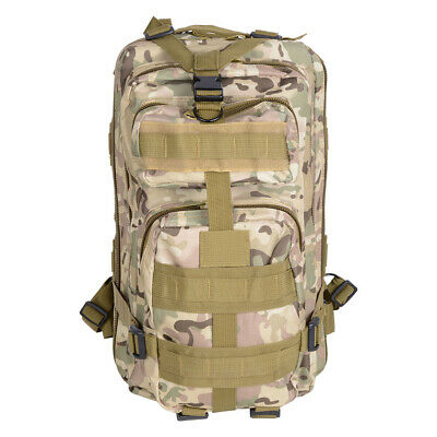 AU30.99 • Buy 28L Rucksack Camping Hiking Bag Army Camo Military Outdoor Backpack Travel