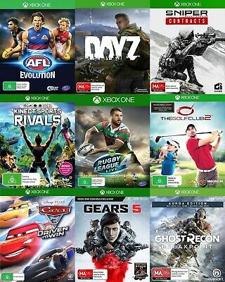 AU14.95 • Buy Xbox One Games - Choose Your Own Title *Free Next Day Post From Sydney*