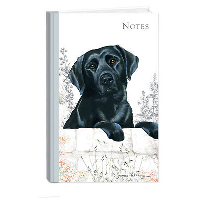 Quality Labrador Black Breed Of Dog Hardcover Lined Notebook A6 Perfect Gift • 5.99£