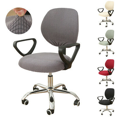 AU11.89 • Buy Stretch Computer Office Chair Cover Removable Rotating Seat Covers Slipcover
