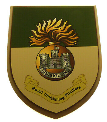Royal Inniskilling Fusiliers Classic Full Faced Hand Made Regimental Wall Plaque • 19.99£