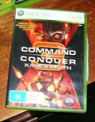 AU19.99 • Buy Xbox 360 Game - Command & Conquer 3: Kane's Wrath