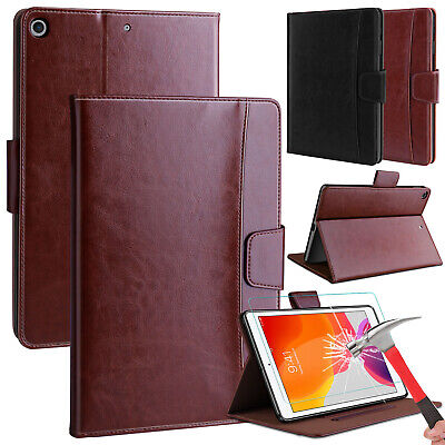 $16.97 • Buy For IPad 10.2  7th Generation 2019 Case Leather Stand Wallet+HD Screen Protector