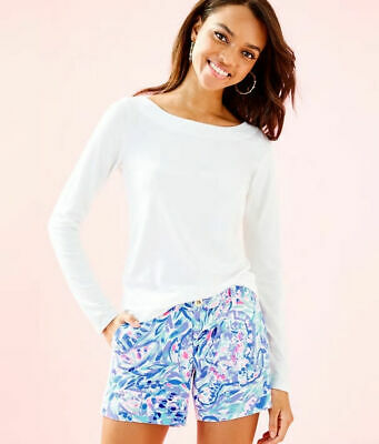 Lilly Pulitzer Tristan Top - Resort White - Size M • 45$