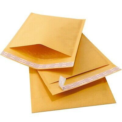 $8.99 • Buy Kraft Bubble Mailers Padded Envelopes Protective Packaging Bubble EcoPak Brand