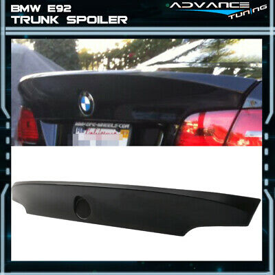 $99.99 • Buy Fits 07-13 BMW 3-Series E92 M3 CSL Style Unpainted Trunk Spoiler - ABS