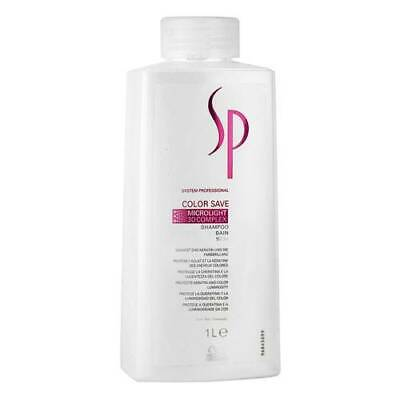 New Wella SP Color Colour Save Shampoo For Coloured Hair 1L 1000ml - BEST Price • 19.99£