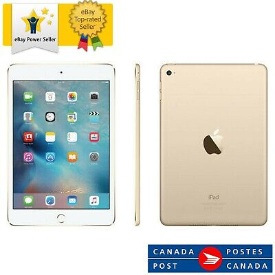 $ CDN254.21 • Buy APPLE IPAD MINI 4 16GB GOLD WIFI 7.9  RETINA DISPLAY TABLET IOS MK6L2LL/A