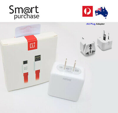 AU46.79 • Buy Fast Wall Charger Dash Adapter For Oneplus 7 6 6T 5 5T 3T 3 Type C 5V 4A Cable W