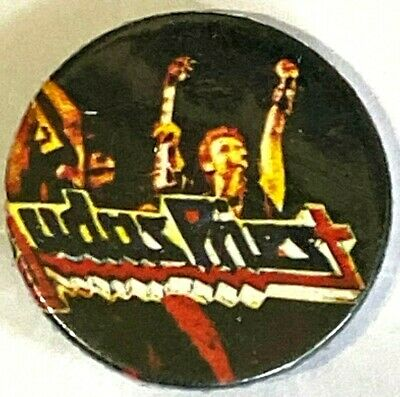 £2.99 • Buy JUDAS PRIEST - On Stage - Old OG Vtg 70/80`s Button Pin Badge 25mm Heavy Metal