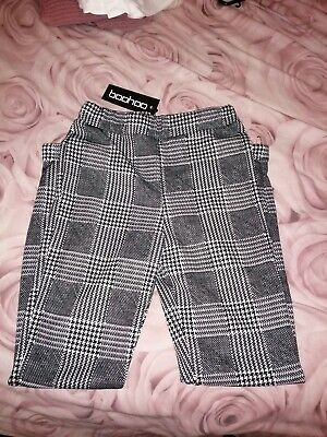 £12 • Buy Black Dogtooth Check Trousers