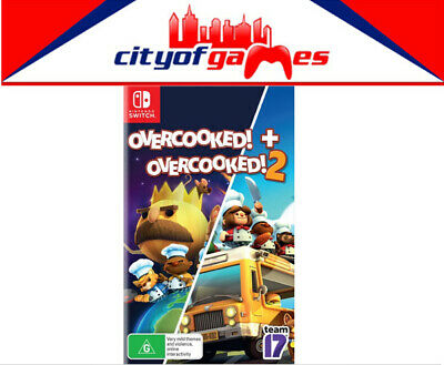 AU59.95 • Buy Overcooked & Overcooked 2 (Double Pack) Nintendo Switch Game New In Stock