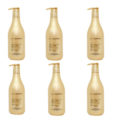 6x Loreal Serie Expert Absolut Repair Lipidium Shampoo Mit Spender (6x 500ml) • 68.89£