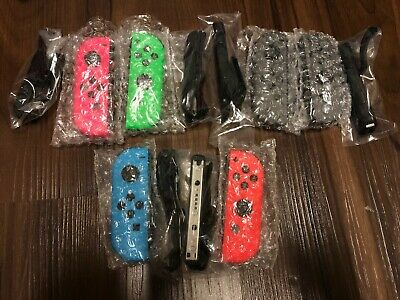 $35.98 • Buy Grade A+ Mint Nintendo Switch Joy Con Left Neon Blue Right Red Pink Green Grey