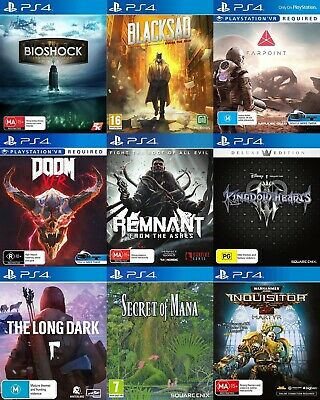 AU49.95 • Buy PS4 Playstation 4 Game - Choose Your Own Title *Free Next Day Post From Sydney*