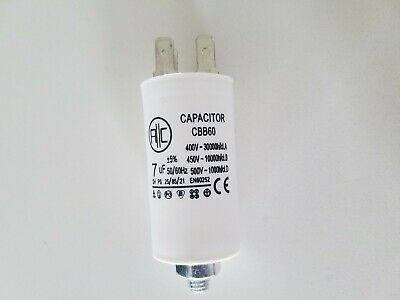 AU5.45 • Buy 7uF Start Run Capacitor FISHER & PAYKEL DRYER P/N 427616 0225 AU STOCK 2 & 4 PIN