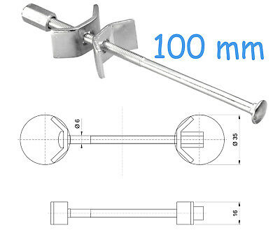 100 Mm Kitchen Worktop Connecting Bolts Joining Joint Clamps Butterfly Connector • 5.89£