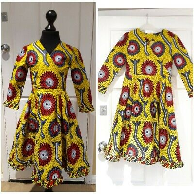 Girls Ankara Dress African Dress Girl Dress Girl African Print Dress  Girl Dress • 35£