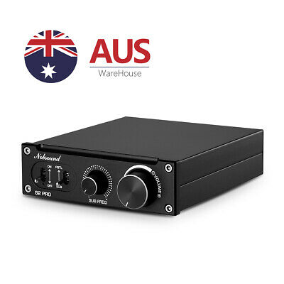 AU113.99 • Buy 300W Subwoofer Bass Audio Mono Channel Power Amplifier For Home Theater Speaker