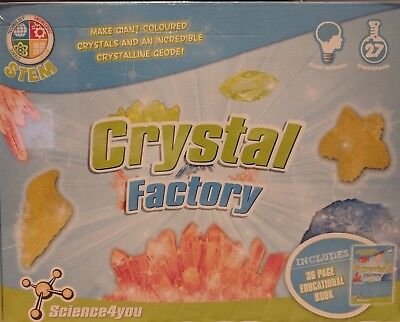 AU27 • Buy Crystal Factory Science Experiment Kit STEM - Science4You