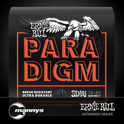 AU37 • Buy Ernie Ball Paradigm 7-String Skinny Top Heavy Bottom Electric Guitar Strings 10-