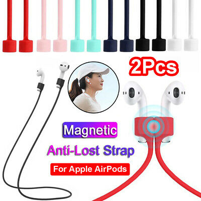 $ CDN2.50 • Buy 2-Pack Earphone Strap For Apple AirPods Anti Lost Drop Magnetic Loop String Rope
