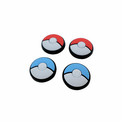 4x Thumb Grips For Switch Lite & Joy-Con Joy Stick Caps Pokeball Pokemon ZedLabz • 3.77£